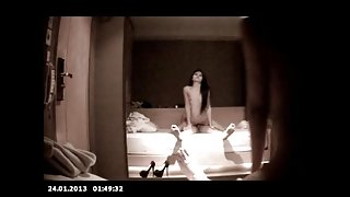 Young and Cute Indonesian Babe in HiddenCam