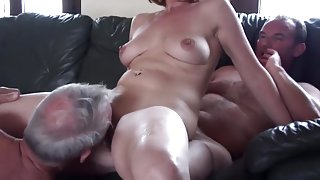 Amateur mature cuckold threesome part 2