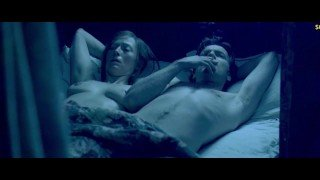 Tilda Swinton Nude Boobs In Young Adam Movie
