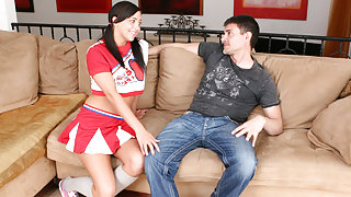 Ivy Winters in Sexy Cheerleader Gets Laid By A Stranger