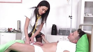 21Sextury Russian Nurse DP'd by 2 Hung Paitents