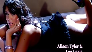 Amazing pornstars Alison Tyler and Lea Lexis in fabulous hd, brunette xxx movie