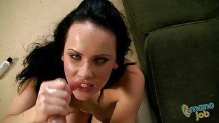 Katie st.Ives loves to play with this cock